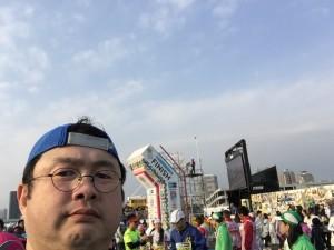 フルマラソン完走だからフルフェイス